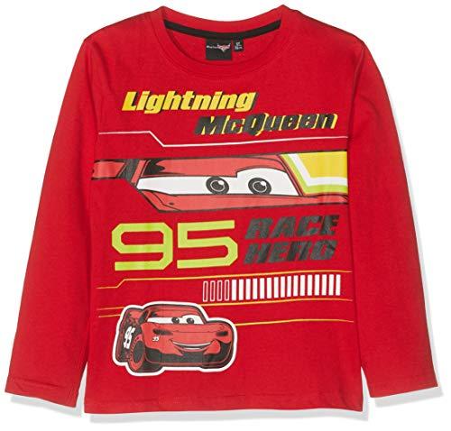 CARS manica lunga Top 98 104 116 128 Manica Lunga Pullover Shirt bambini Lightning DISNEY