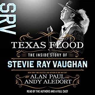 Texas Flood audiobook cover art