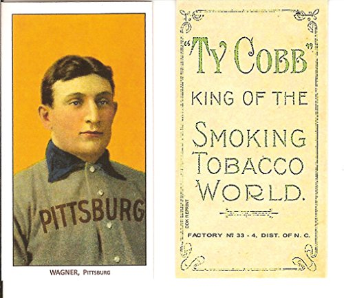 1909 #T206 Honus Wagner Piedmont Pittsburg Rookie Card IMT 1995 Wagner Estate , CMG - Mint Condition Ships in a brand new Holder ! Made popular by Wayne Gretzky