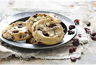 Christie Cookie White Chocolate Cranberry Cookie Dough, 2.5 Ounce -- 96 per case.