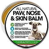 All Natural Balsamo per la Pelle, Naso e Zampe di Cani e Gatti | Crema Idratante per Riparare la Pelle Secca e Irritata | Protegge Pelle e Zampe da Infezioni e Ferite | Allevia il Prurito