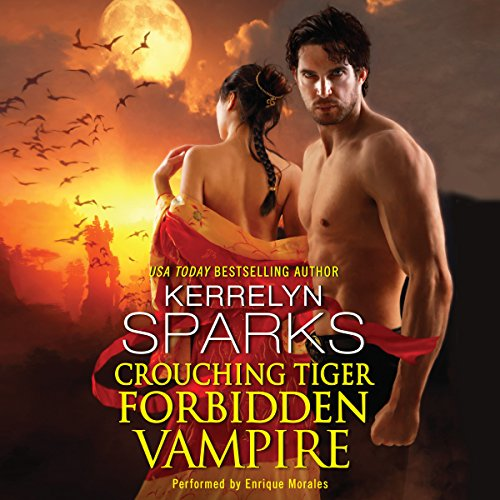 Crouching Tiger, Forbidden Vampire audiobook cover art