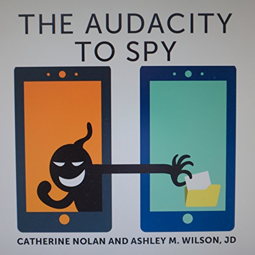 The Audacity to Spy audiobook cover art