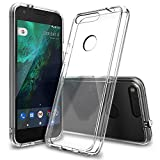 Ringke Fusion Compatible with Google Pixel XL Case Crystal Clear PC Back TPU Bumper Drop Protec…