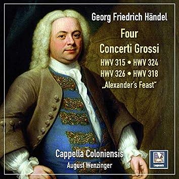 Handel: 4 Concerti grossi