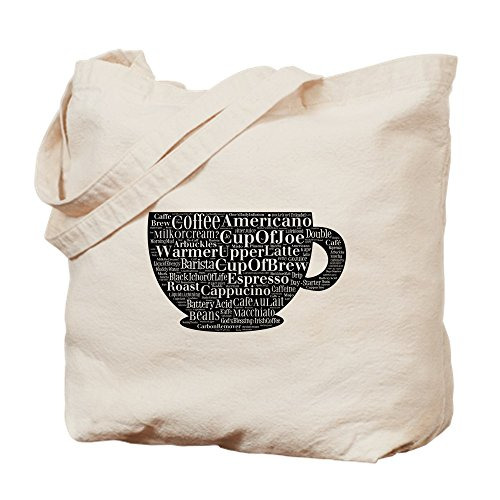 CafePress Cup of Joe and More Tragetasche, canvas, khaki, M
