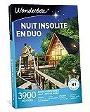 Wonderbox – Coffret Cadeau amoureux - Séjour - NUIT INSOLITE EN DUO - 3900 séjours