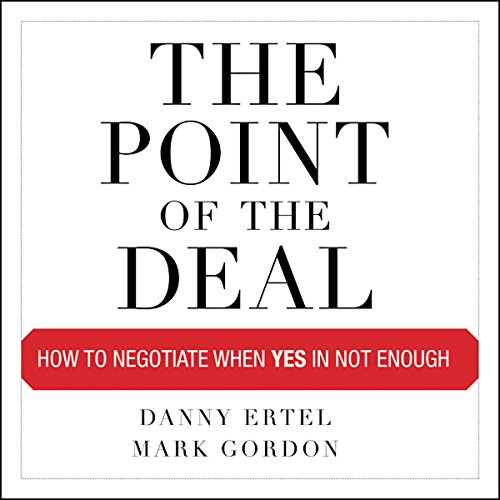 The Point of the Deal audiobook cover art