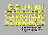 Ecoshirt F6-ZC29-E9M0 Pegatinas Cannondale F117 Vinilo Adesivi Decal...