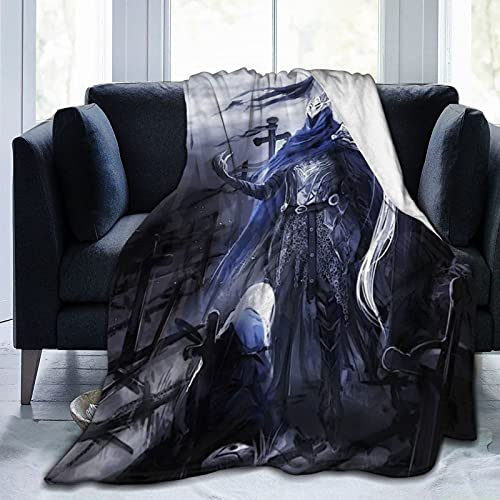 Dark Souls - Manta de microfibra ultrasuave para cama y sofá en todas las estaciones, 200 x 150 cm
