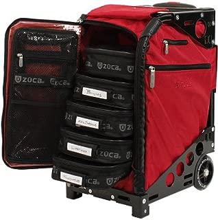 Zuca Pro Artist Case - Ruby Red/Black