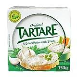 TARTARE - Fromage français – fromage à tartiner à l'ail et aux herbes 150 g