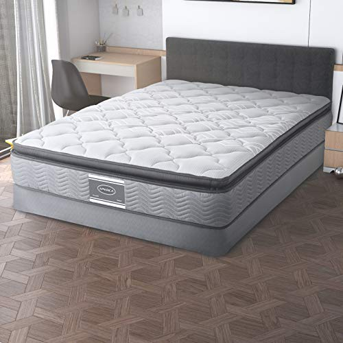 America Colchón Queen Size Smart, Gratis Box (Base) bost10