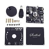 Tablero del Amplificador Bluetooth 5.0, 2 Canales Amplificador Bluetooth de Placa de Alta Fidelidad EstéReo 50w*2 Módulo Amplificador Audio Digital USB/AUX/PC