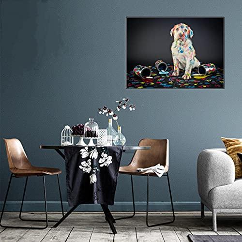 Milorankie Mural Adhesivo decorativo para pared, 5Ddiy con diseño de cubo de Rubik, redondo, diamante completo, con diamantes de imitación, 25 x 30 cm