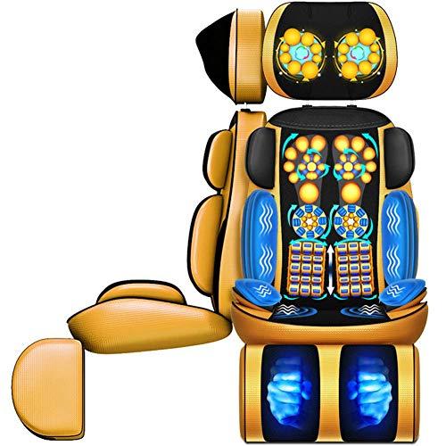 New Multi-Function Massage Seat Cushion Cervical Neck Waist Shoulder Leg Foot Body Shock Massager De...