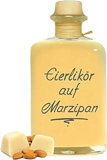 Eierlikör auf Marzipan 0,5L - Sehr sämig & süffig 20% Vol. Likör Geschenk