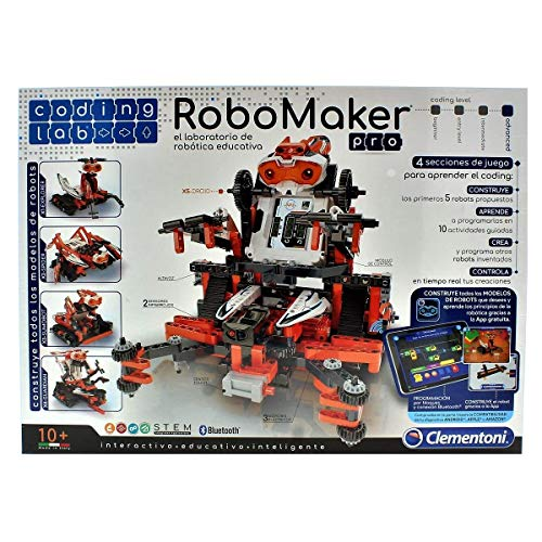 Clementoni- Robomaker, Multicolor (55239