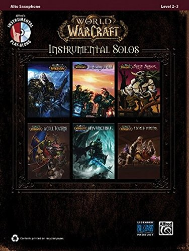 World of Warcraft Instrumental Solos: Alto Sax, Book & CD (Pop Instrumental Solo) (Pop Instrumental Solo Series)
