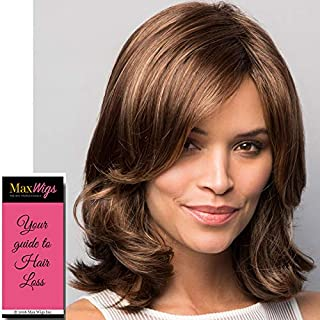 Carrie Wig Color Butter Pecan Rooted - Noriko Wigs 10