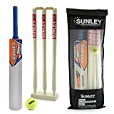 Sunley Sarthak Youth Combo Size 4 for Age Group 9-11 Years Wooden Cricket Kit ultrasonic bat repeller Oct, 2020