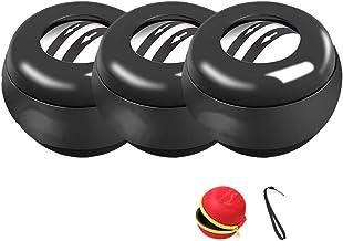 Powerball Set van 3 roterende Gyroscoop mechanische Power Pols Bal voor Arm Training 100kg Wordt geleverd met een opbergta...