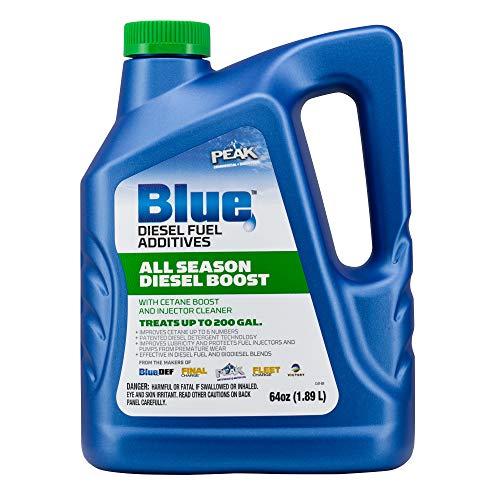 PEAK Blue 64 Ounce Liquid All Season Cetane & Mileage Booster for Diesel Engines