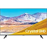 SAMSUNG UN85TU8000 85-Inch Crystal 4K Ultra HD HDR Smart LED TV - 3840 x 2160-120MR - Wi-Fi - Bluetooth - Alexa - Google Assistant - Black (Renewed)
