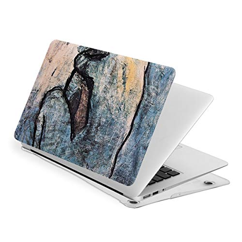 RYHT Blue Nude by Picasso Waterproof Pv Laptop Protector, Hard Shell Case with Bottom Cover Compatible with MacBook Touch15
