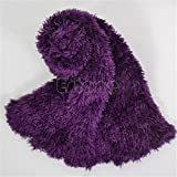 CADANIA Magic Snood Bufanda Bufandas Mantón Multifuncional Al Aire Libre Use Damas - Deep Purple