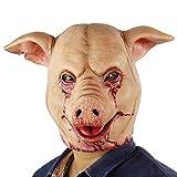 Hophen Halloween Scary Pig Animal Butcher...