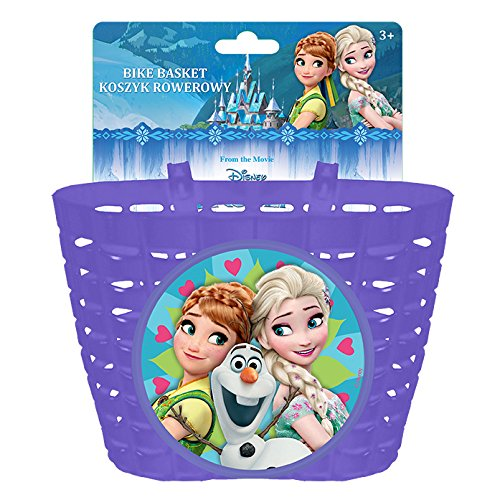 Disney Mädchen Frozen Fahrradkorb, Mehrfarbig, S