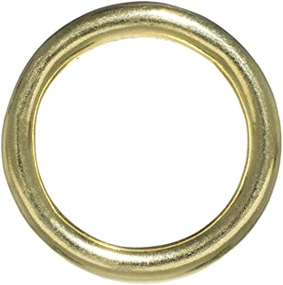 1440 Gold Plated Brass 6mm Round 20 Gauge Jump Rings *