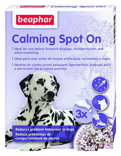Beaphar 3 Pipetas Spot On Calming para Perros 0,7 Ml 25 g ⭐