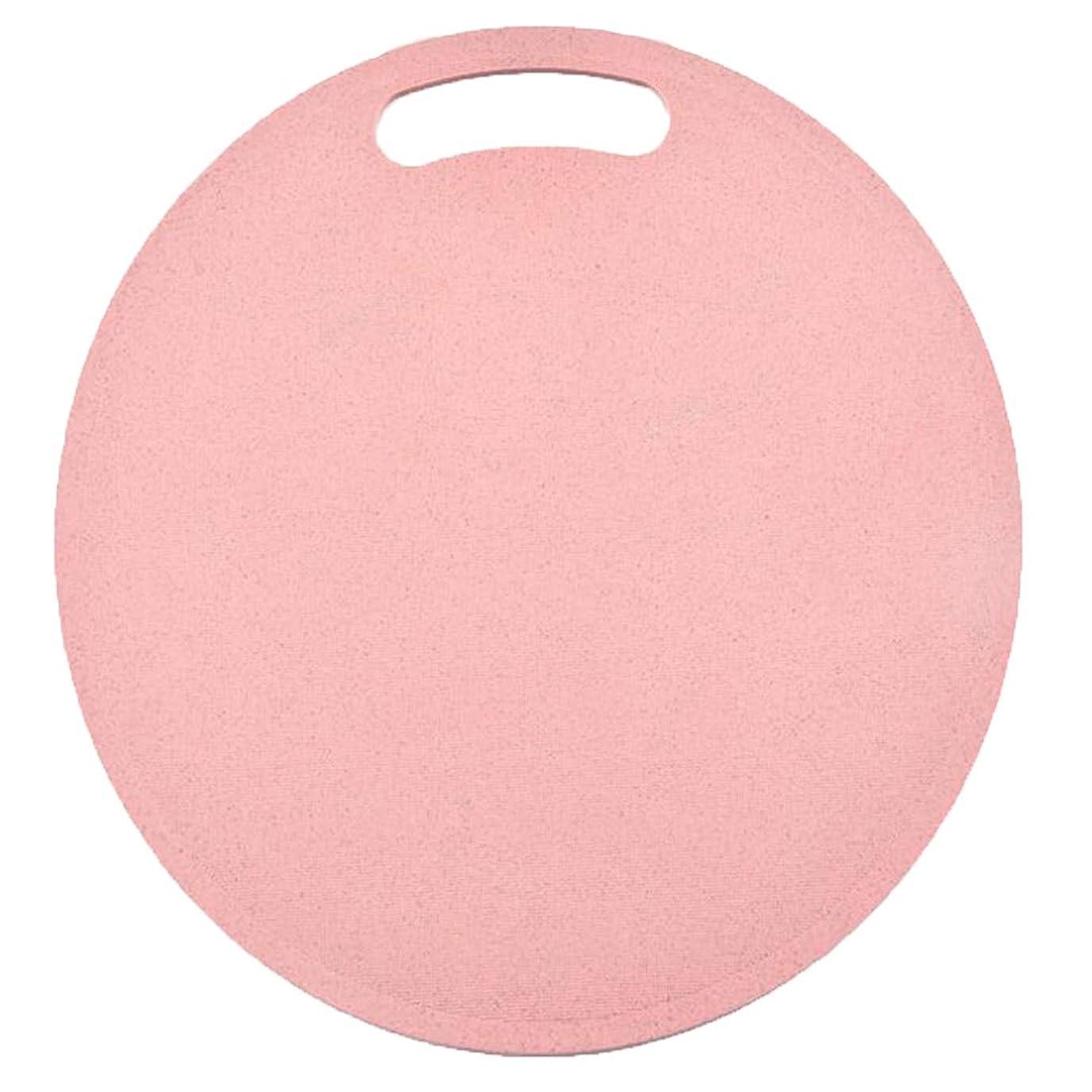 アクション秘密の宿命Cngstar 丸め小麦わら まな板 世帯 キッチン まな板 ? プラスチックフルーツ まな板 (ピンク)