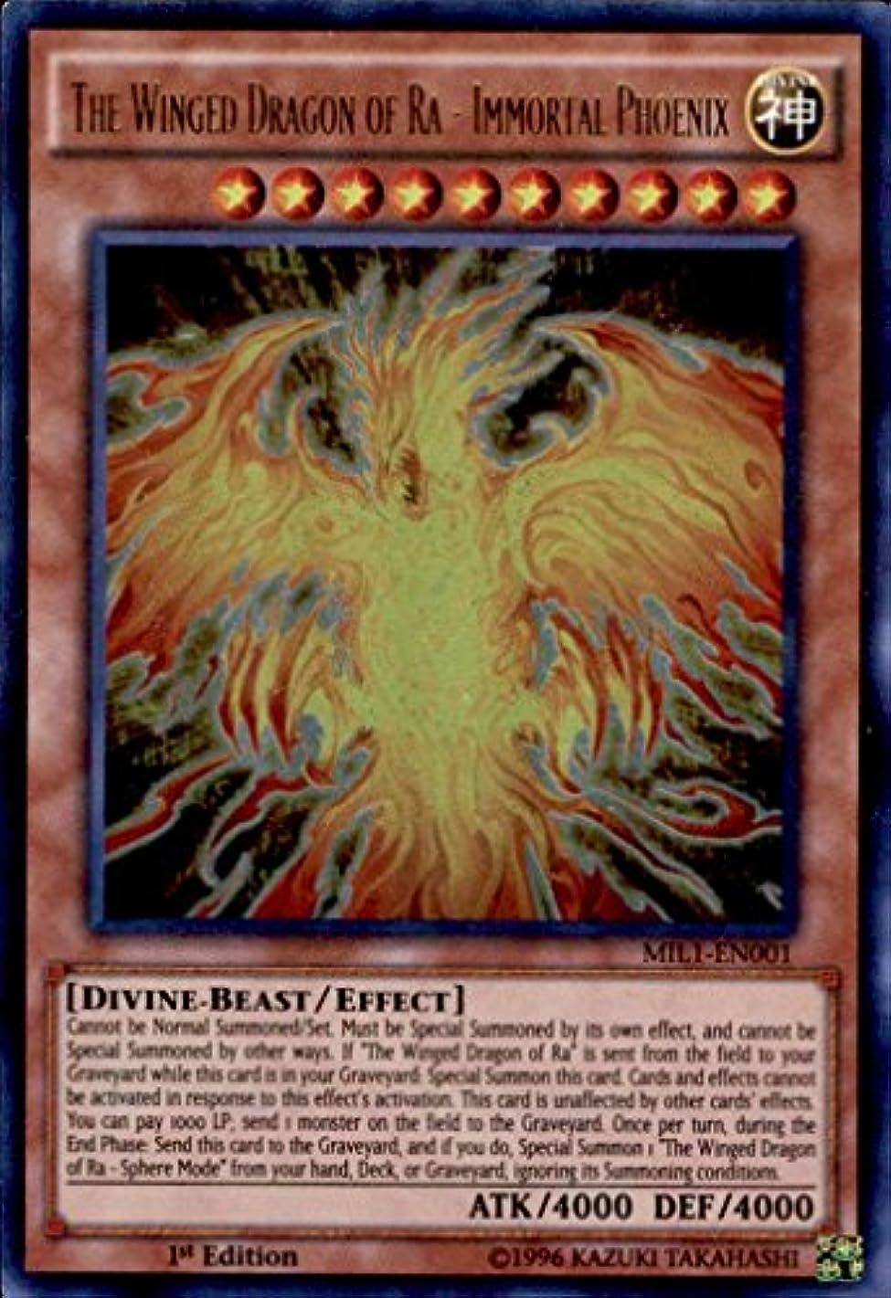 Yu-Gi-Oh! - The Winged Dragon of Ra - Immortal Phoenix MIL1-EN001 Ultra Rare 1st Edition