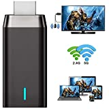 WiFi Display Dongle, Ifmeyasi 2020 Upgraded 5G/2.4G Wireless HDMI Display Adapter Receiver, Screen Mirroring Miracast Dongle from Android/iOS/Window to TV Monitor Projector
