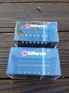 DiMarzio Liquifire 7 String Neck & Crunch Lab 7 String Bridge Set Black Pickups