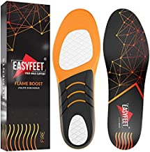 {New 2021} Sport Athletic Shoe Insoles Men Women - Ideal for Active Sports Walking Running Training Hiking Hockey - Extra Shock Absorption Inserts - Orthotic Comfort Insoles for Sneakers Running Shoes