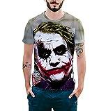 Camisetas Verano Hombre Basicas Joven Moda Horror Divertidas...
