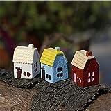 Bluelover Fai Da Te in Miniatura Country House Ornamenti in Vaso Pianta Garden Decor...