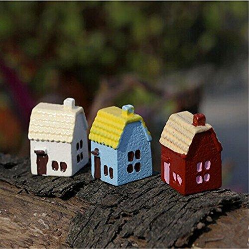 Bluelover Ornements De Maison De Pays Bricolage Miniature en Pot Plante Jardin Decor
