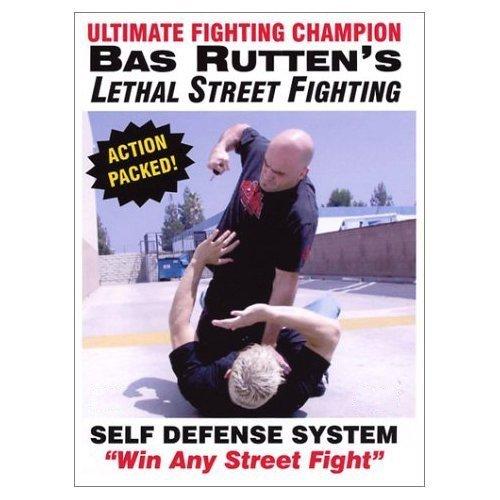 BAS RUTTEN Lethal Street Fighting SELF Defense DVD Video!