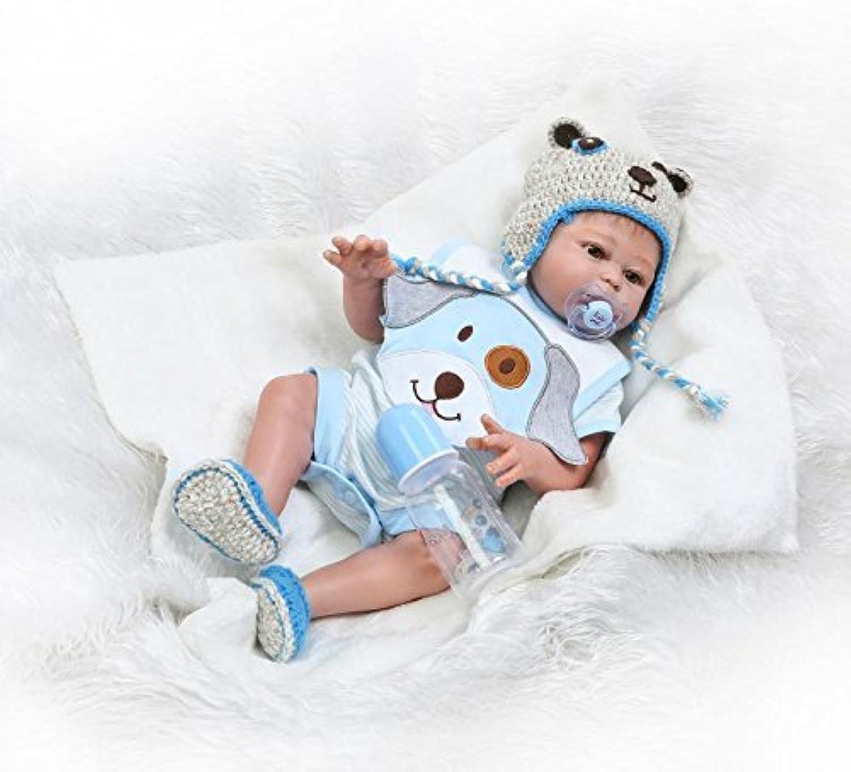 ZIYIUI 20 Zoll Niedlich Realistisch Reborn Wiedergeboren Babypuppe Jungen Körper Silikon Vinyl Kinder Junge Mädchen Spielzeug B07NJGK6LL Gewinnen Sie hoch geschätzt  | Elegant und feierlich