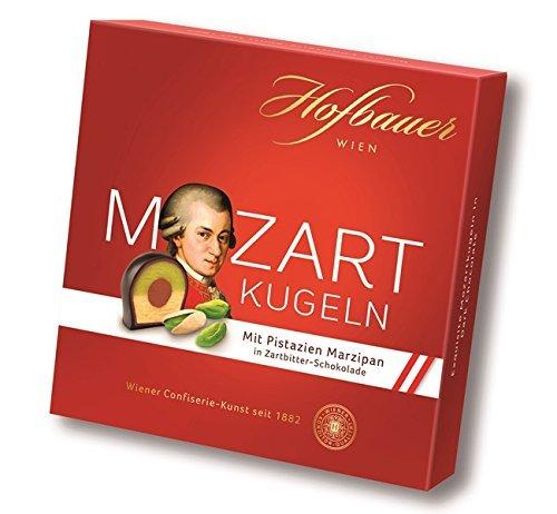 Hofbauer Mozartkugeln in Zartbitter Schokolade 100g