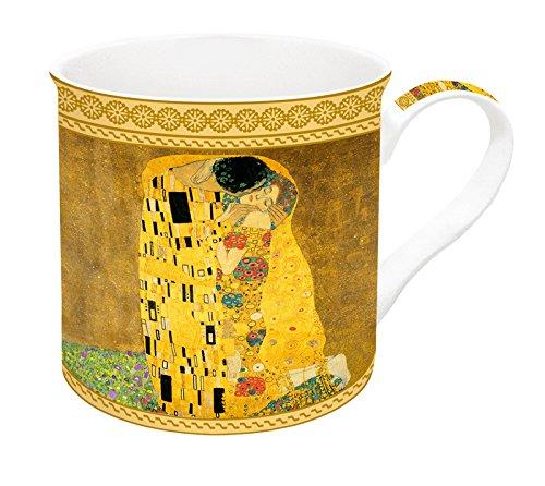 Jd Diffusion 170KLI1Cofanetto con Klimt Tazza Ceramica Multicolore 13,8x 13x 10,2cm