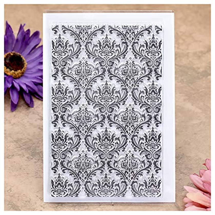Kwan Crafts Leaves Background Clear Stamps for Card Making Decoration and DIY Scrapbooking