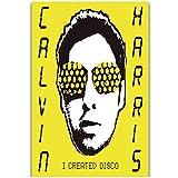 yhyxll Calvin Harris Popmusik Star Wandkunst Gemälde Druck