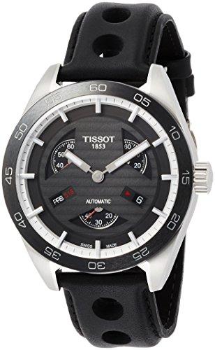 Relógio masculino Tissot PRS 516 mostrador preto automático T100.428.16.051.00
