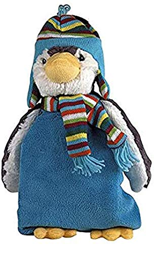 Plüschtier Pinguin Paul mit 0,8 Liter Sänger Gummi-Wärmflasche
